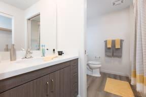Oakland CA Apartments-777 Broadway Bathroom