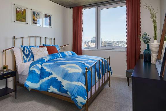 The Danforth Apartments Model Bedroom