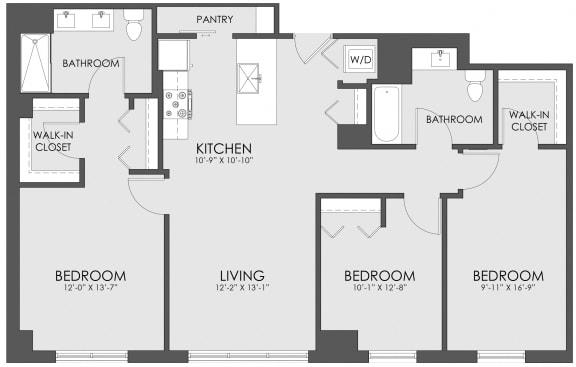 Floor Plan  V-12