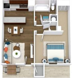 Floor Plan Azul