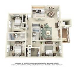 Floor Plan  Bainbridge Renovated Floor Plan at StonePointe, University Place, WA, 98466