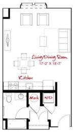 Floor Plan  Floorplan at Windsor at Maxwell's Green, 1 Maxwells Green, Somerville, MA 2144