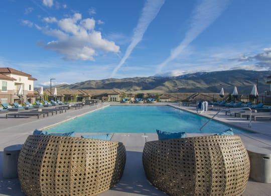 Vida Reno NV Vida Apartments Pool Deck
