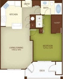 Floor Plan The Mimosa
