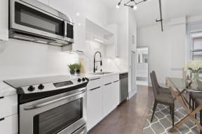 Kitchen at Santa Fe Lofts, 121 E 6th Street, Downtown Los Angeles, CA 90014