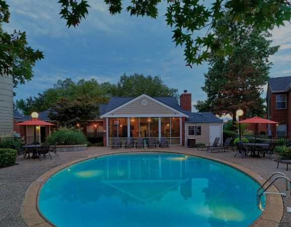 East Chase Apartments resort-style pool