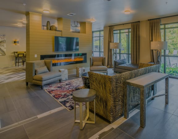 Centre Pointe Apartments - Modern clubhouse