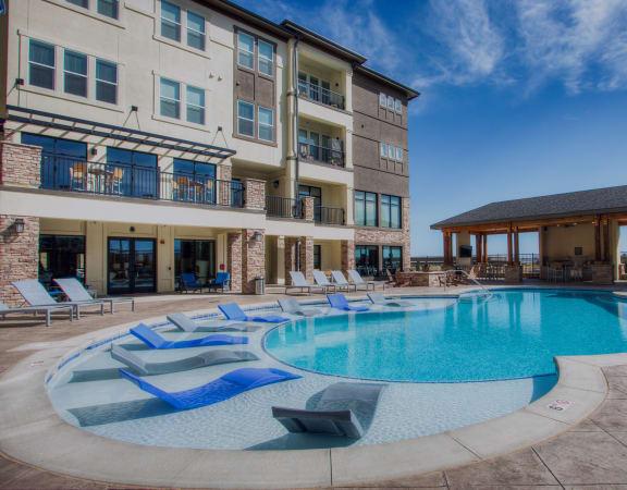 Rise at 2534 pool exterior