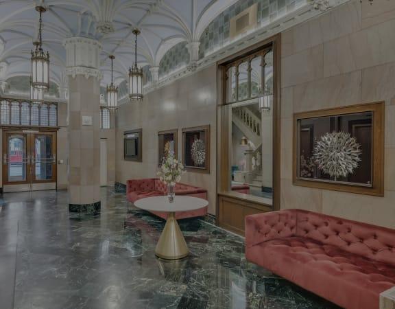 The Kirby lobby interior