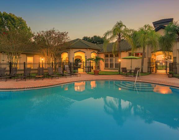 Versant Place apartments pool