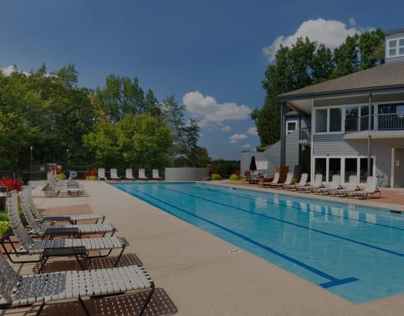 Arbor Hills Apartments resort-style pool