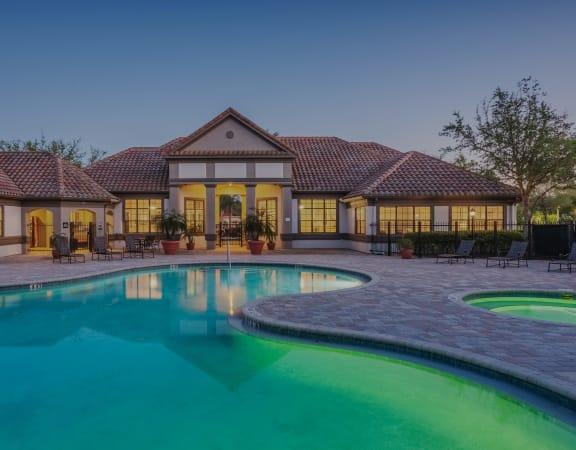 Delano Apartments pool