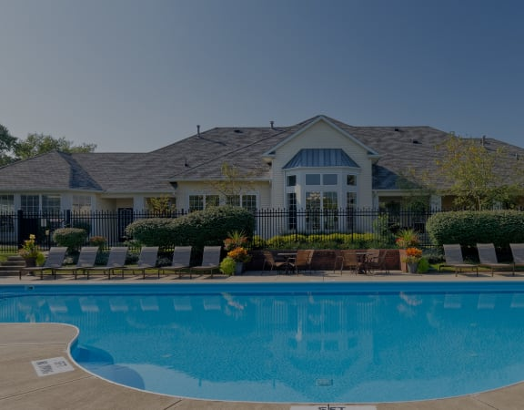 The Gardens at Polaris Apartments resort-style pool