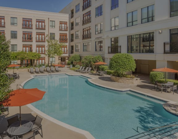 Lofts at Lakeview Apartments - Resort-style pool with sunning deck