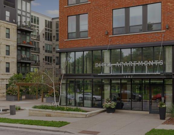 Eitel Apartments entrance