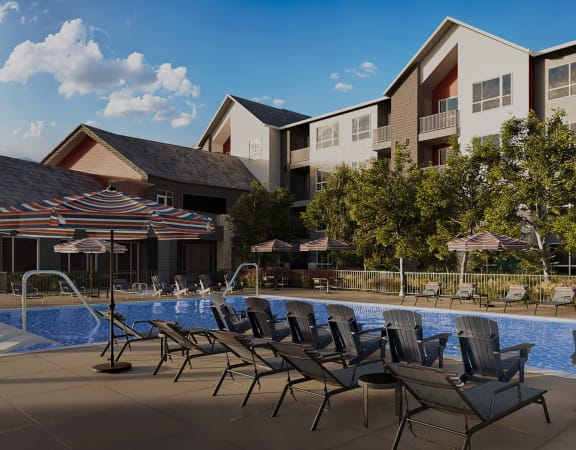 Arazo apartments exterior pool
