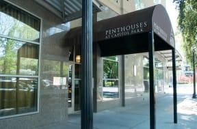 Building Entrance  l Penthouse at Capitol Park