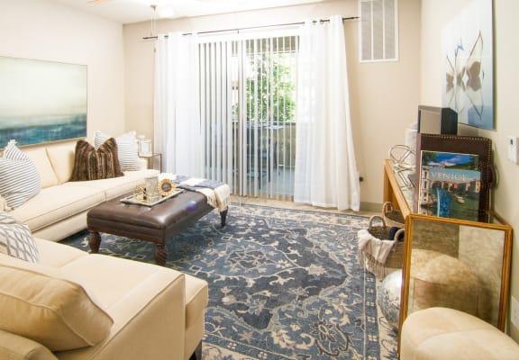 Beautiful floral Floor map in the living room at San Marino Apartments, South Jordan