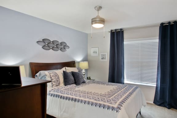 Master Bedroom at Crestview at Cordova, Pensacola, FL
