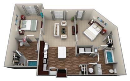 Legacy at Walton Ridge B1L Floor Plan