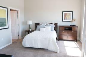 Downtown Sacramento Apartments-Penthouses at Capitol Park Bedroom