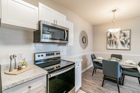 Beautiful Kitchen with eating area