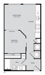 A0 FloorPlan at Paxton Cool Springs, Franklin, Tennessee