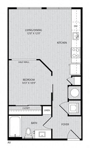 Floor Plan  A0 FloorPlan at Paxton Cool Springs, Franklin, Tennessee