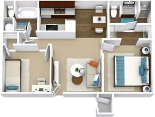 Floor Plan Roja