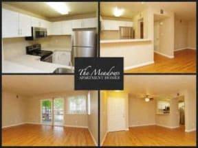 Interior photo collage  l The Meadows Apartments in Santa Rosa CA
