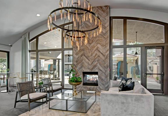 Social Lounge Area Andante Apartments Phoenix, AZ