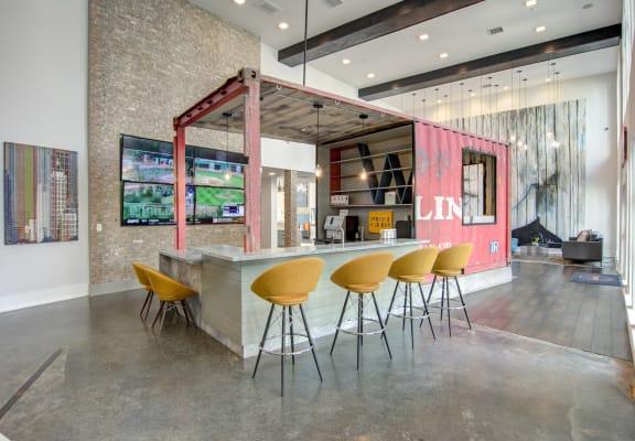 Gourmet Coffee Bar at Spoke Apartments, Atlanta