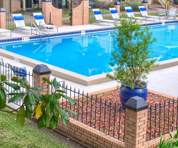 Pool from above at Cordova Regency, Pensacola, FL, 32503