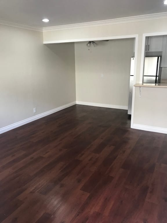 wood flooring in living room area at The Arbors at Mountain View, Mountain View