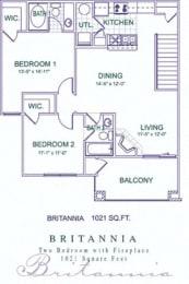 Floor Plan Britannia/Biltmore