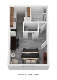 Floor Plan Junior Studio