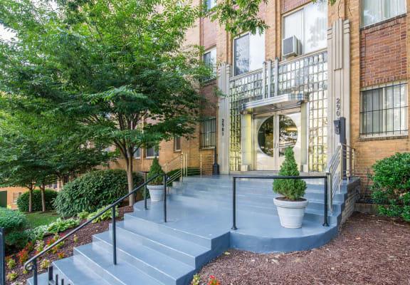 Park Crescent Apartments Exterior Washington DC
