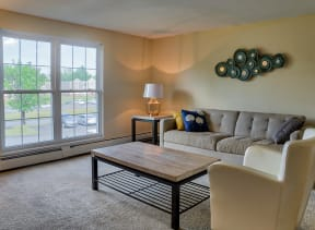 Living Room With Expansive Window| The Boulders