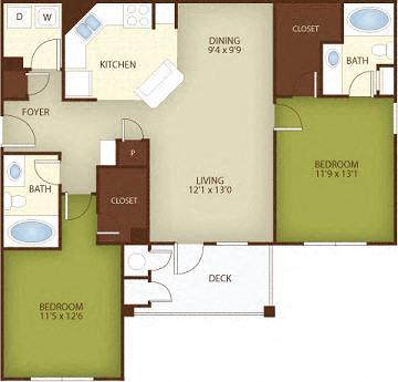 Floor Plan  The Birch