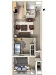 Hadley Floor Plan| Cliffside