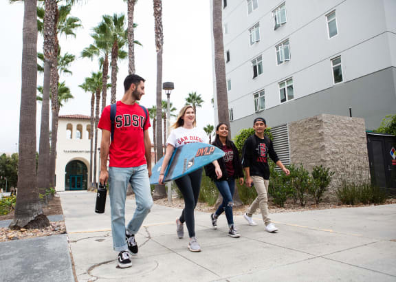 students at SDSU at The Tecs San Diego CA
