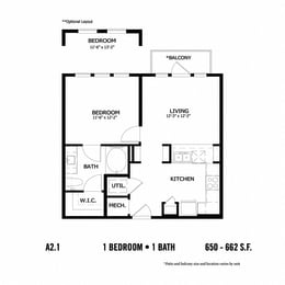 Floor Plan A2.1