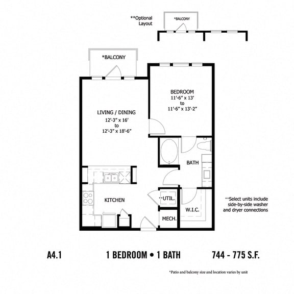 Floor Plan  A4.1