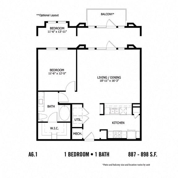 Floor Plan  A6.1