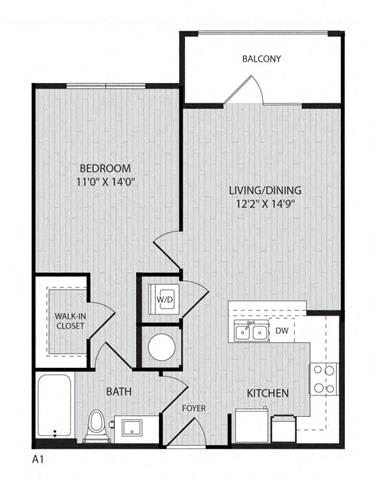 Floor Plan  A1 FloorPlan at Paxton Cool Springs, Tennessee