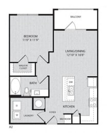 A2 FloorPlan at Paxton Cool Springs, Tennessee, 37067