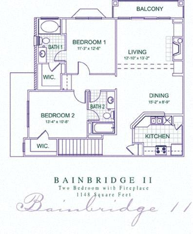Floor Plan  Bainbridge 2