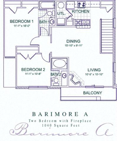 Floor Plan  Barimore A-B