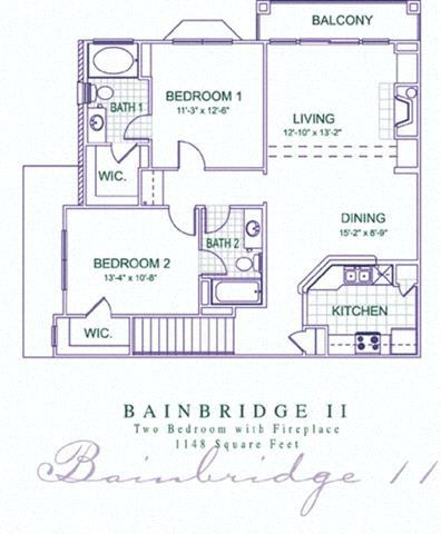 Floor Plan  Bainbridge 2 Renovated