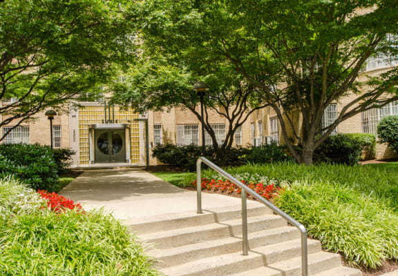 Majestic Apartments Exterior Washington DC